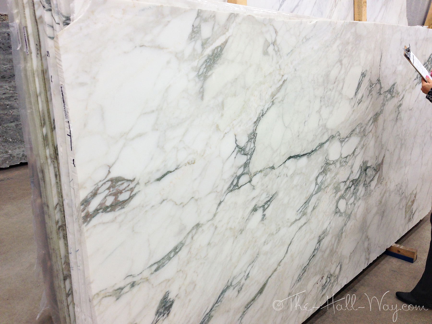 Different Types Of White Marble : More options the hall way