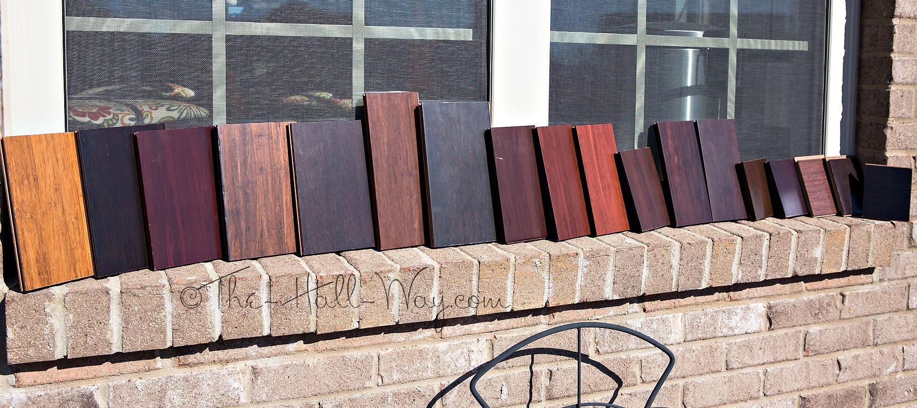 Bamboo Samples