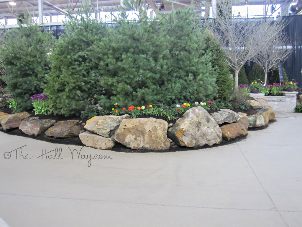 Indy garden show the hall way for Ornamental rocks for landscaping