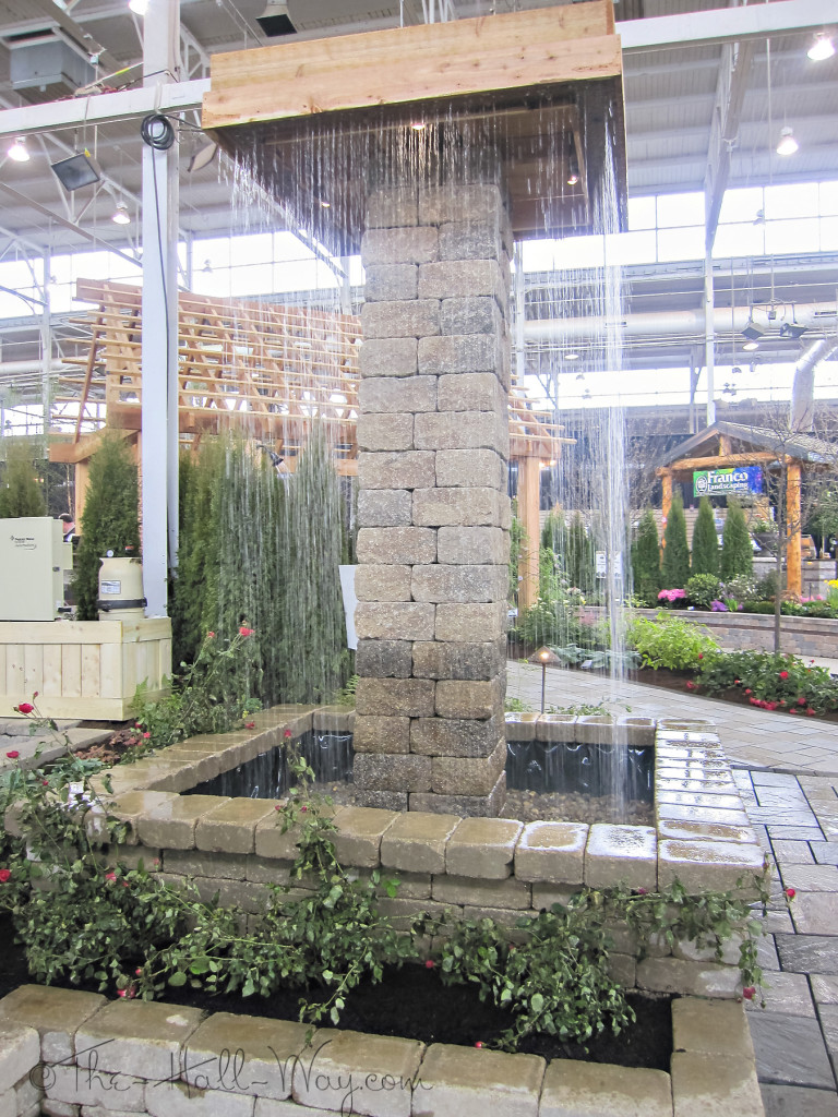 Paver Water Feature