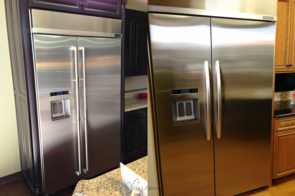 Jenn Air vs Kitchenaid Fridge