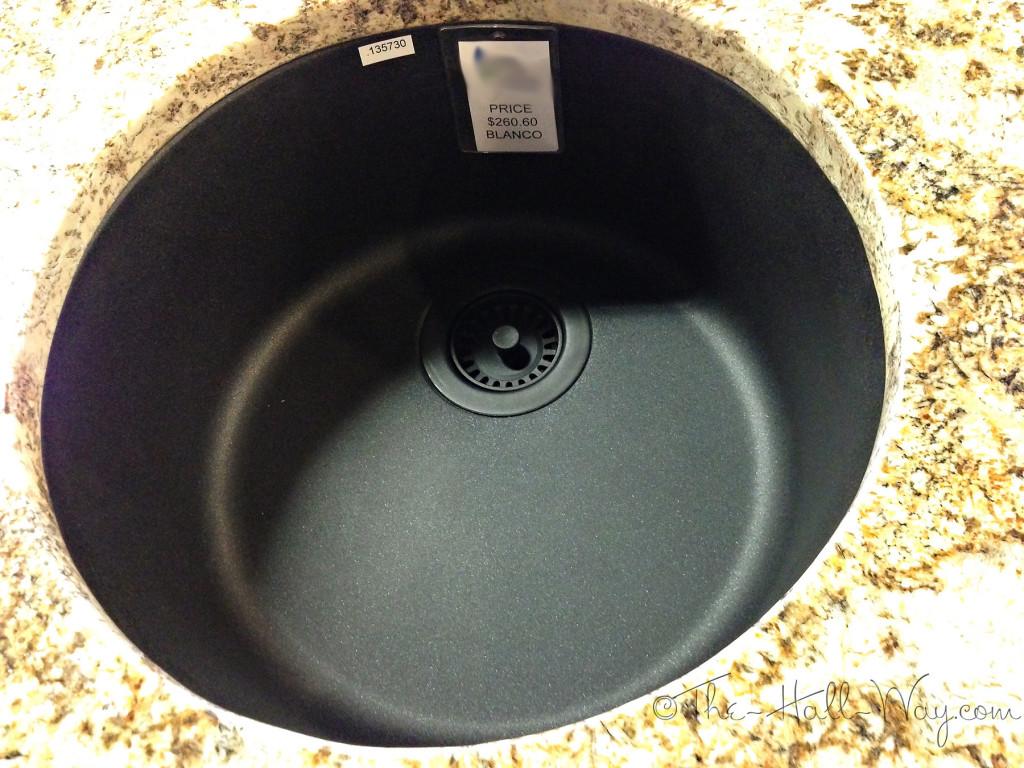 Blanco Rondo Silgranit Sink