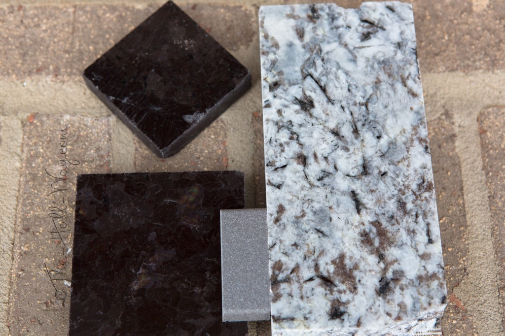 Stone and Sink Samples