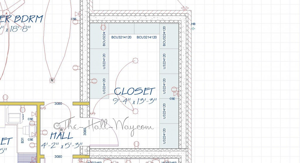 Master Closet Plan