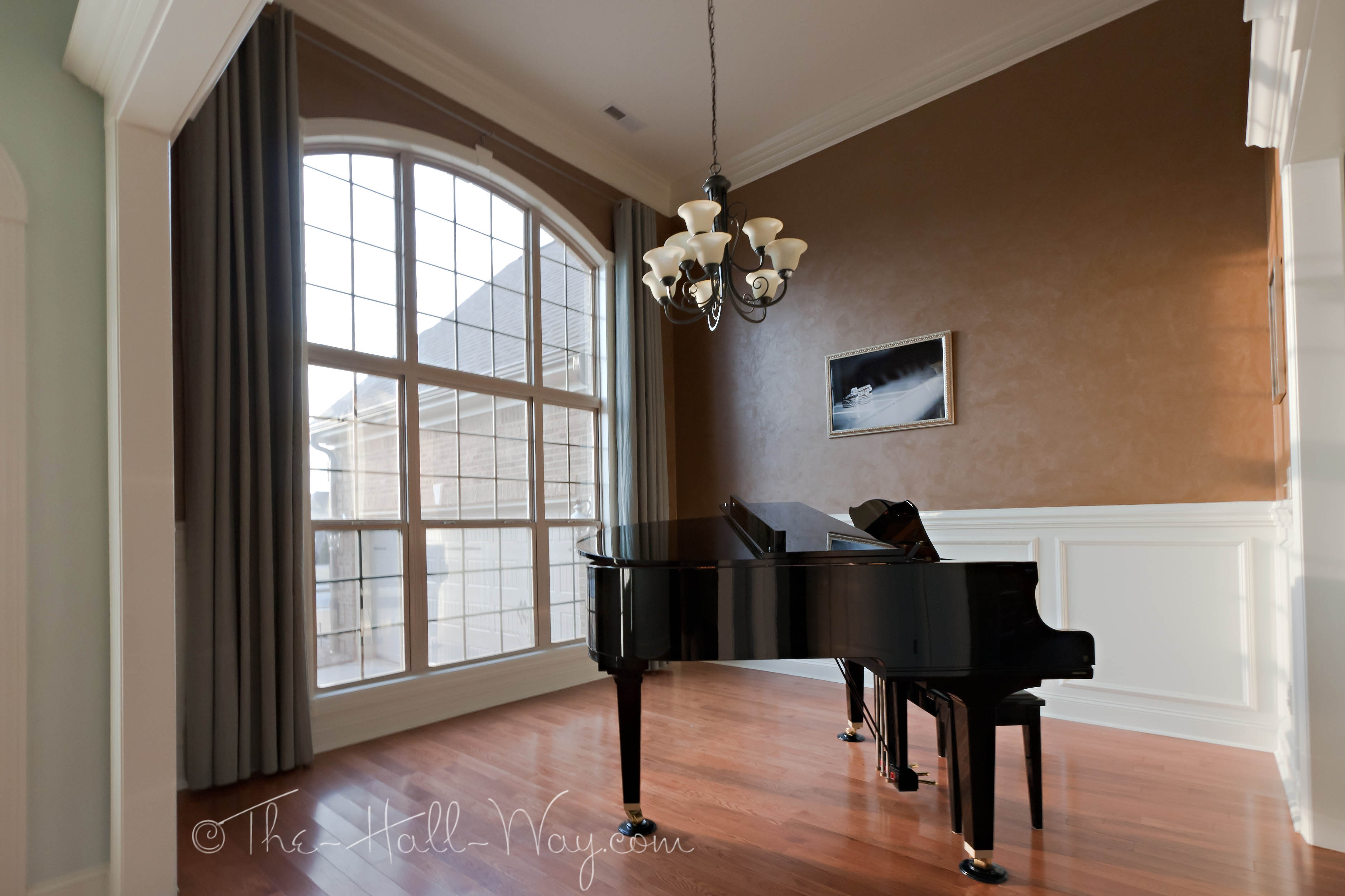 Summer Tour Of Homes The Hall Way . Mocha Color Paint Living Room ... Part 88