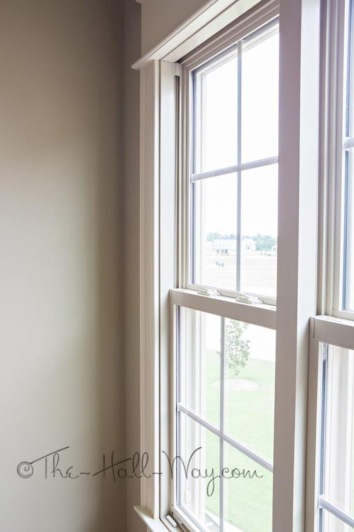 Shallow Window Sill