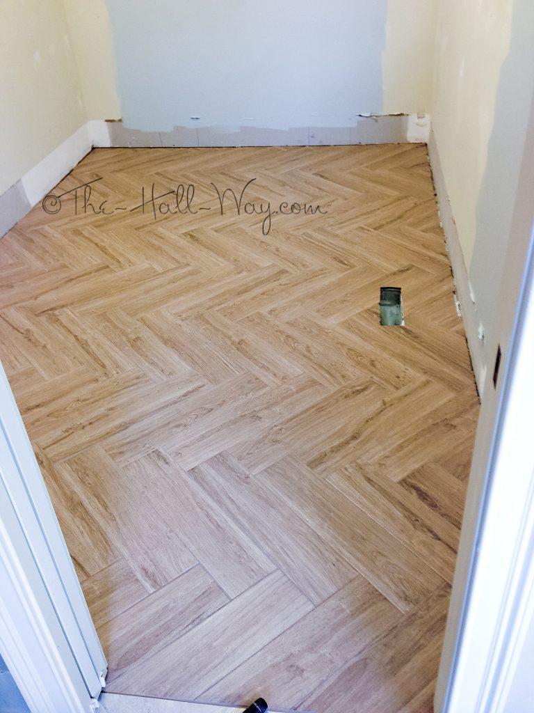 Herringbone Wood Tile