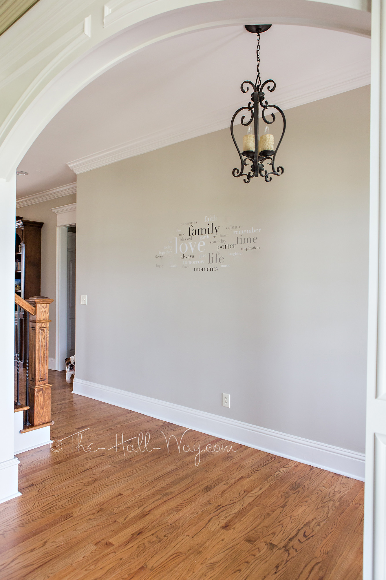 A BM Revere Pewter Alternative | The Hall Way