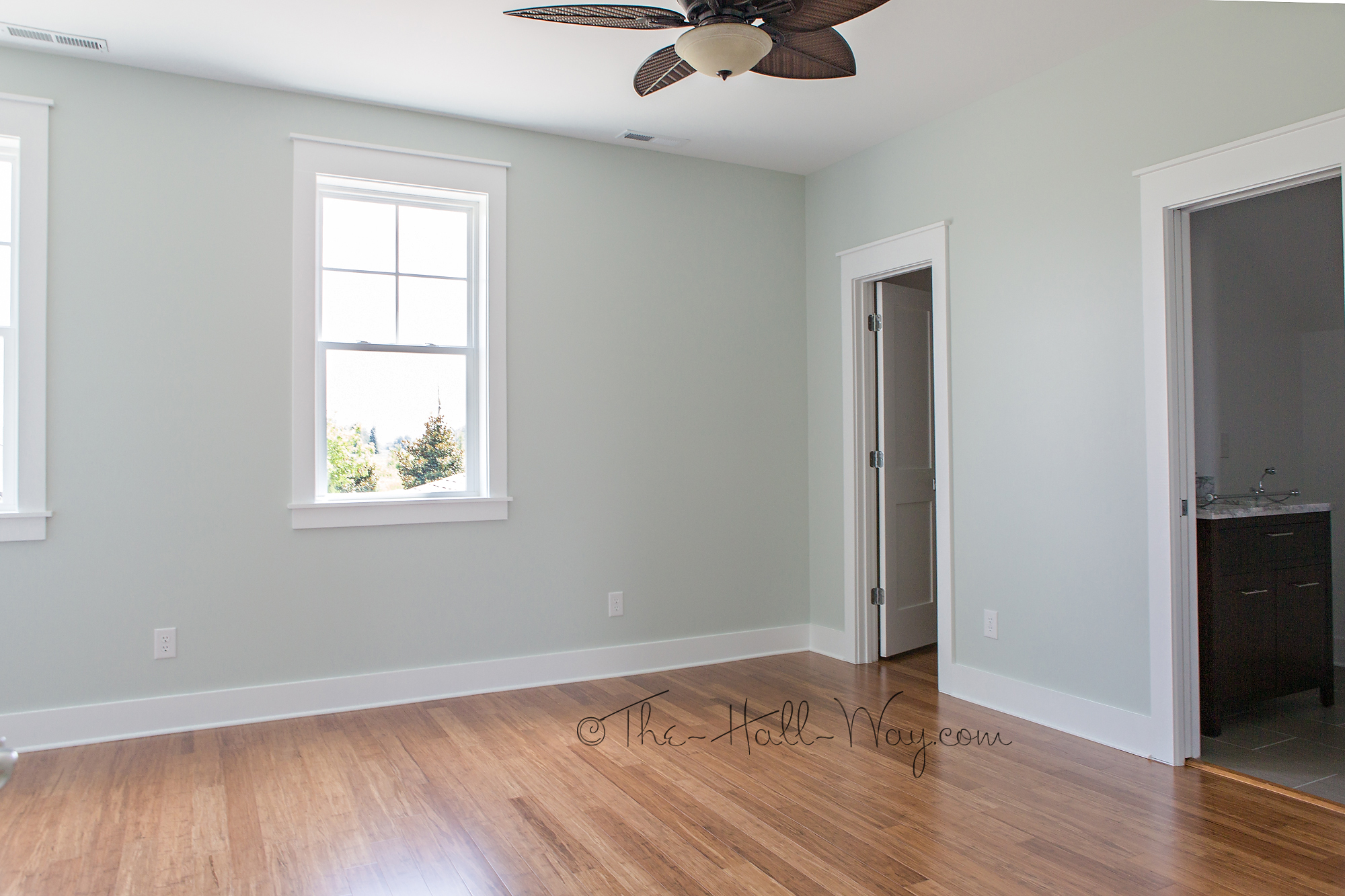 Top Paint Colors For Bedrooms Eastover Cottage The Upstairs The Hall Way