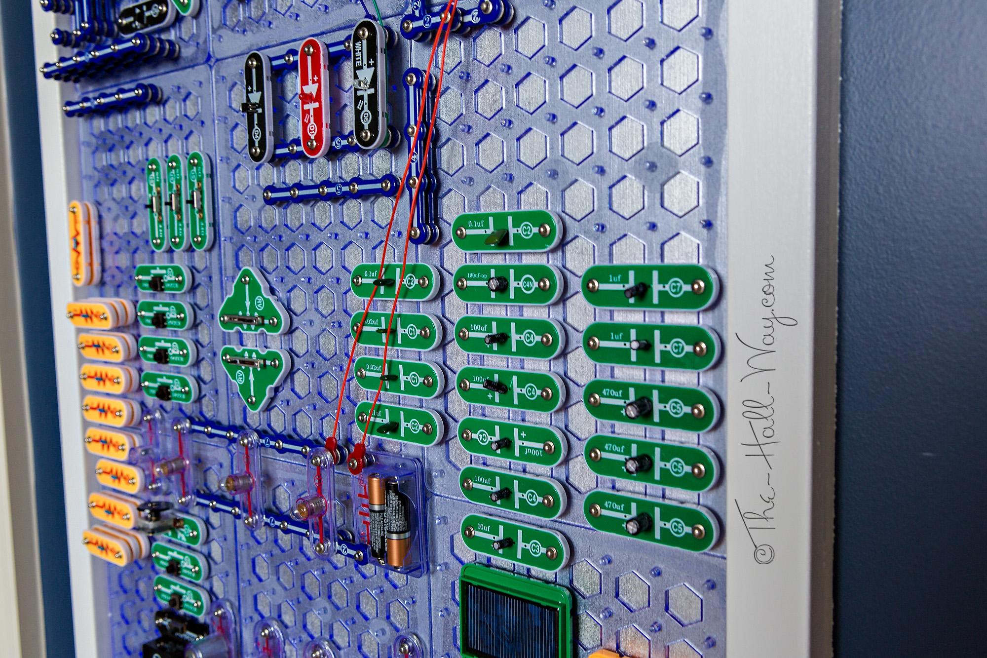 Snap Circuits Wall The Hall Way On Circuit Elenco