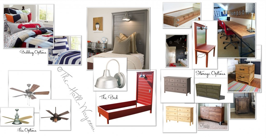 The Kid's Room Design Board