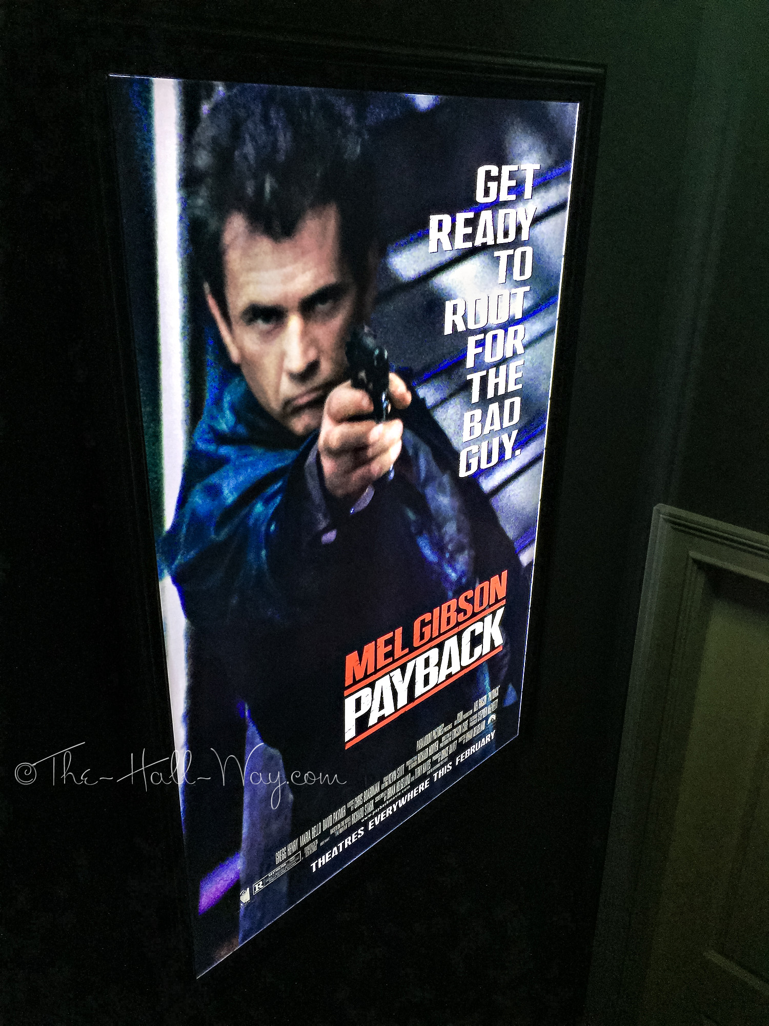 Movie poster light box diy