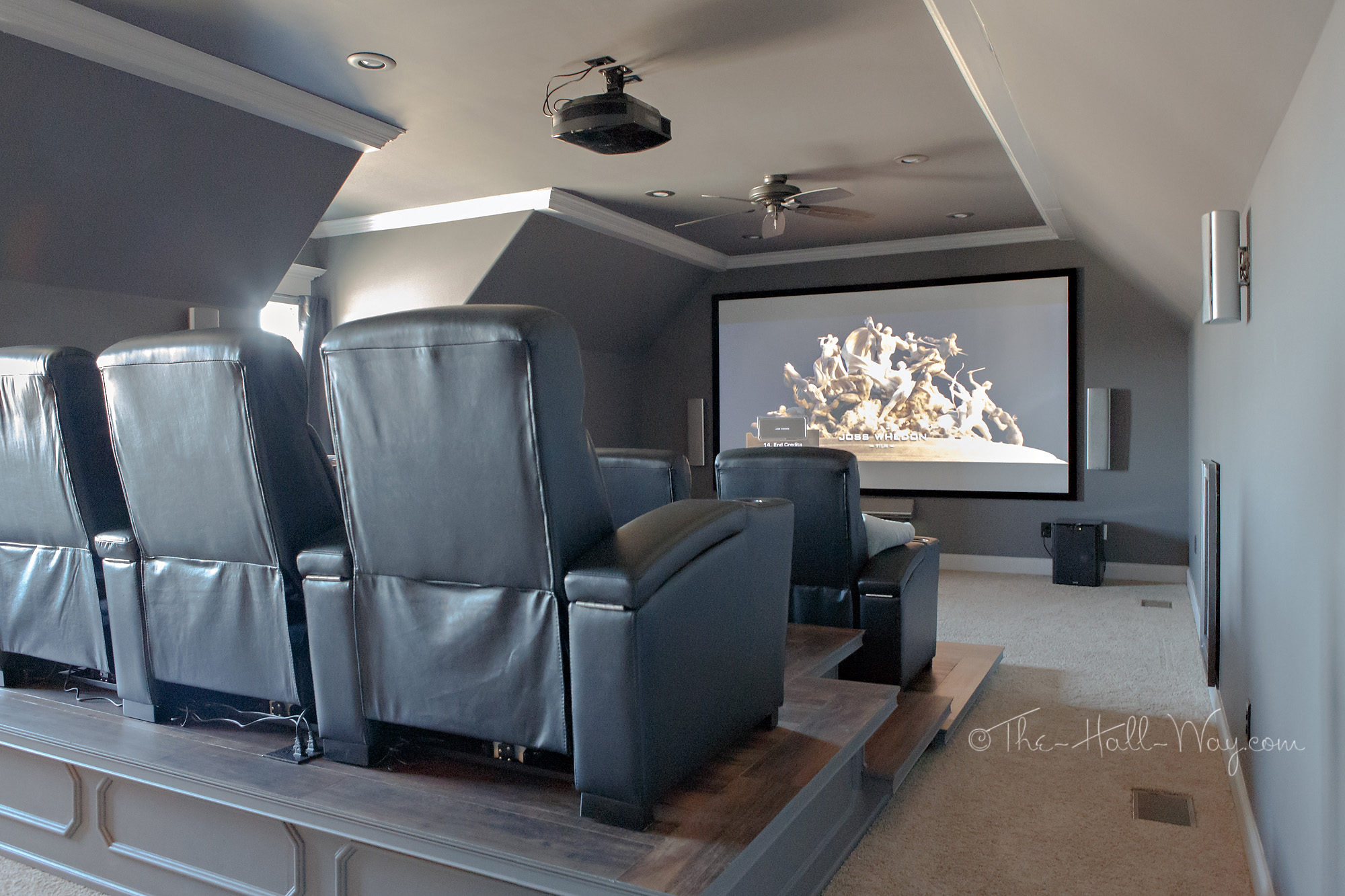Home Theater ndash Final Reveal The Hall Way