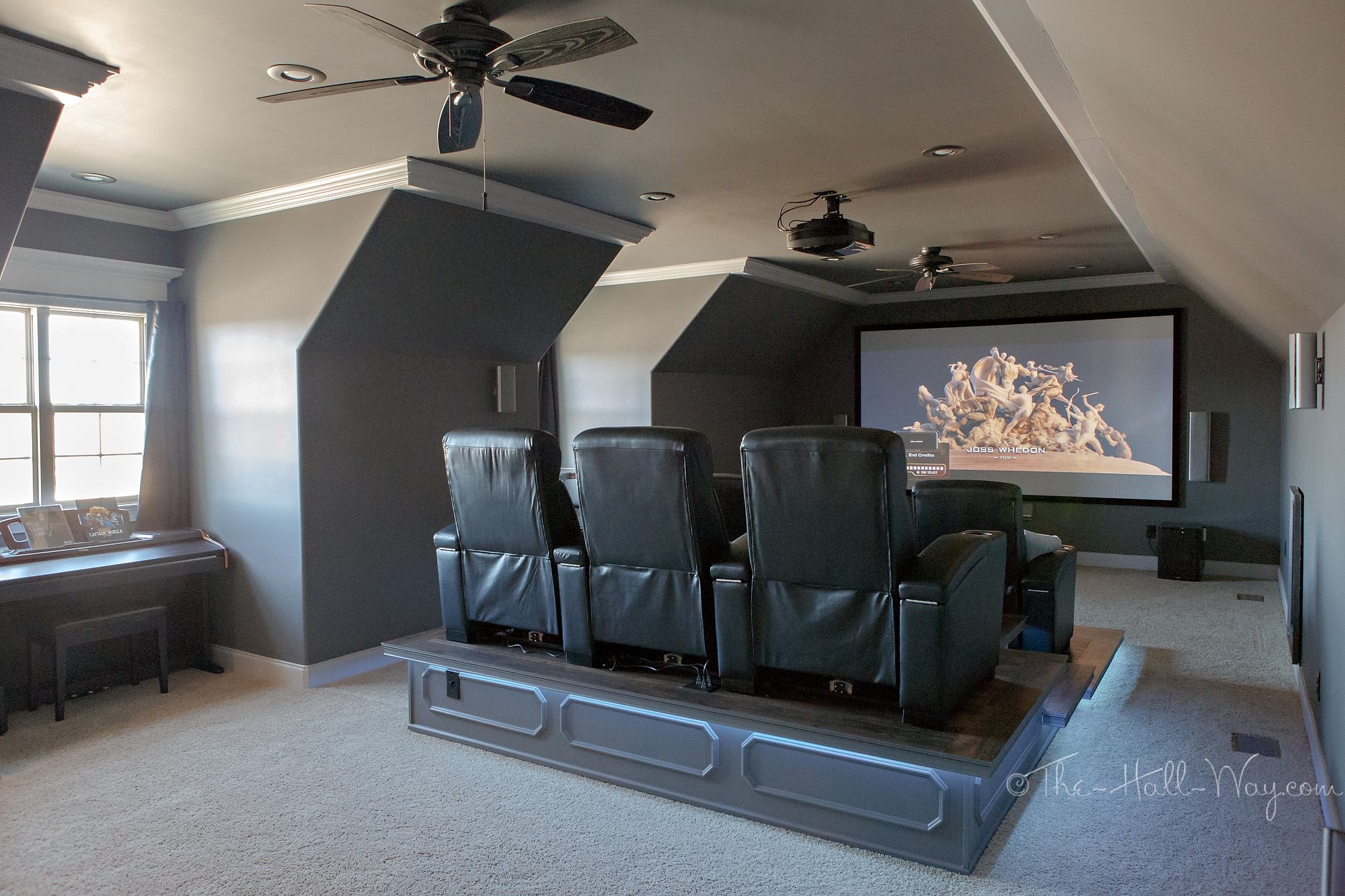 home theater ndash final reveal the hall way basic wiring home theater diagram electrical wiring home theater