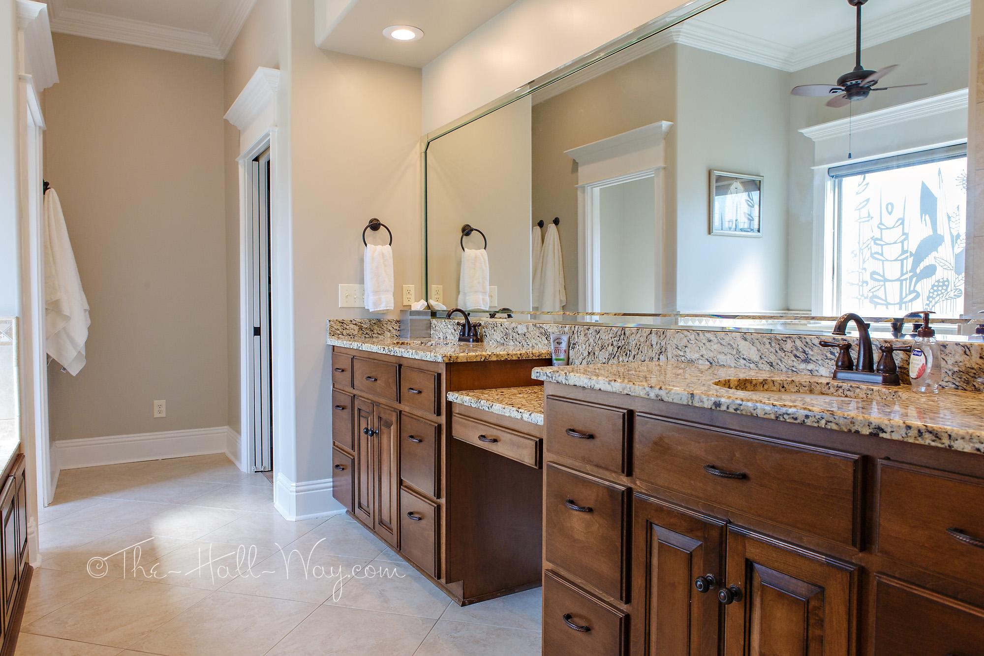Master Bathroom Refresh The Hall Way - Bathroom refresh ideas