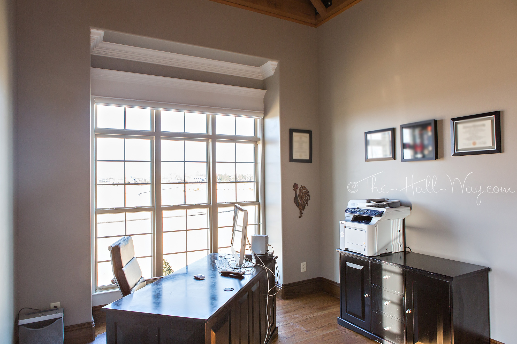 Office With Behr Perfect Taupe