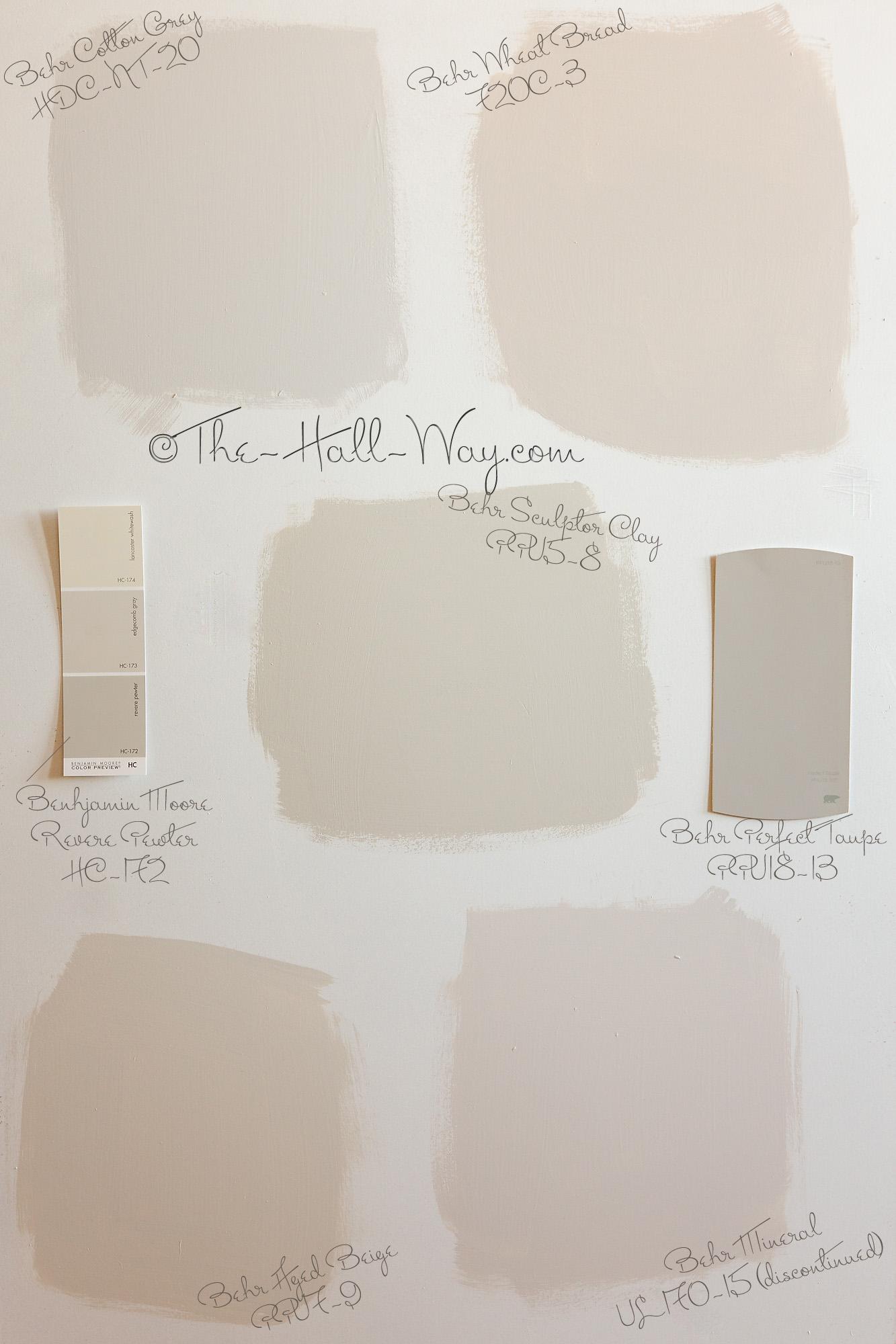Main Living Area Paint Options
