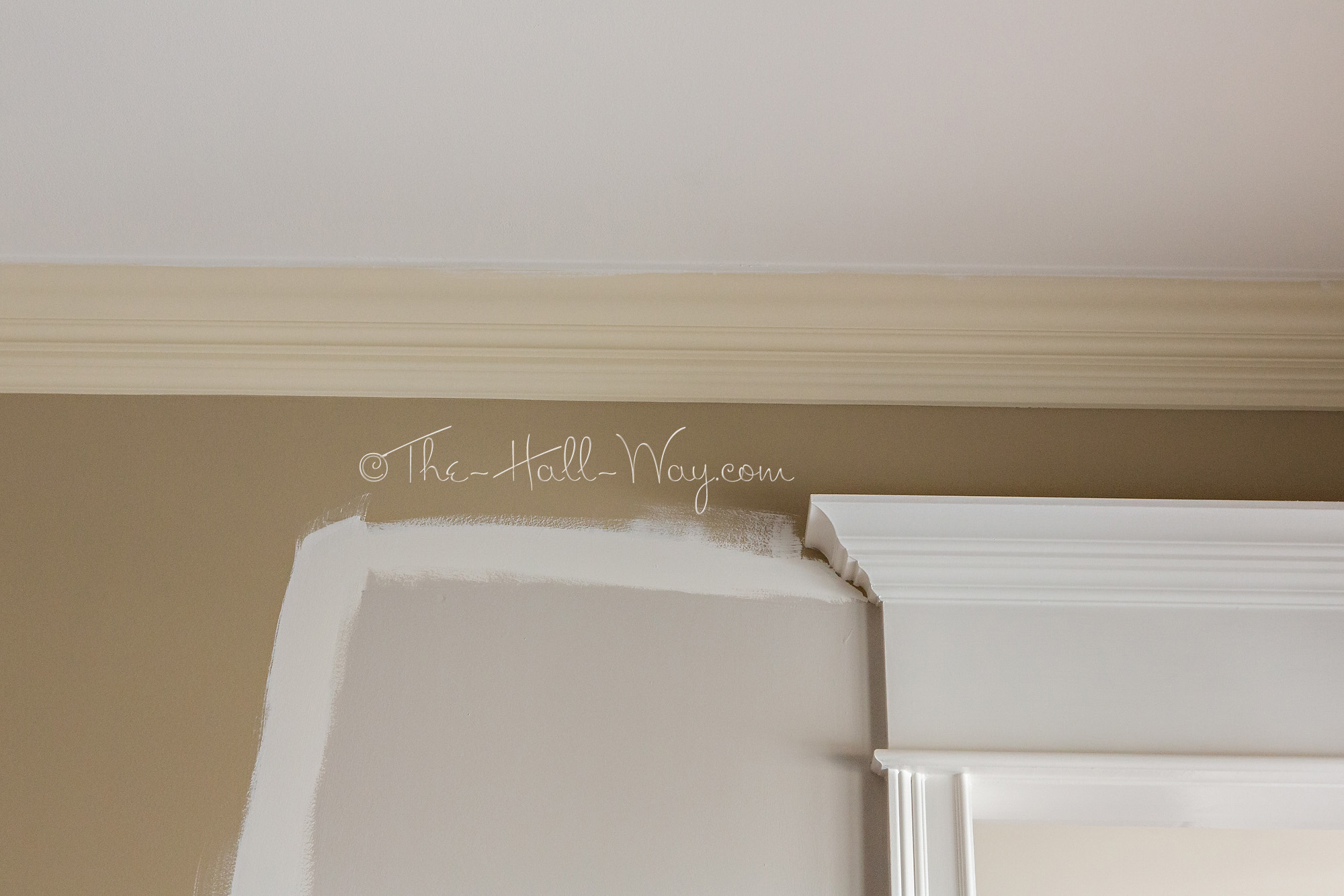 Ceiling In Behr Silky White