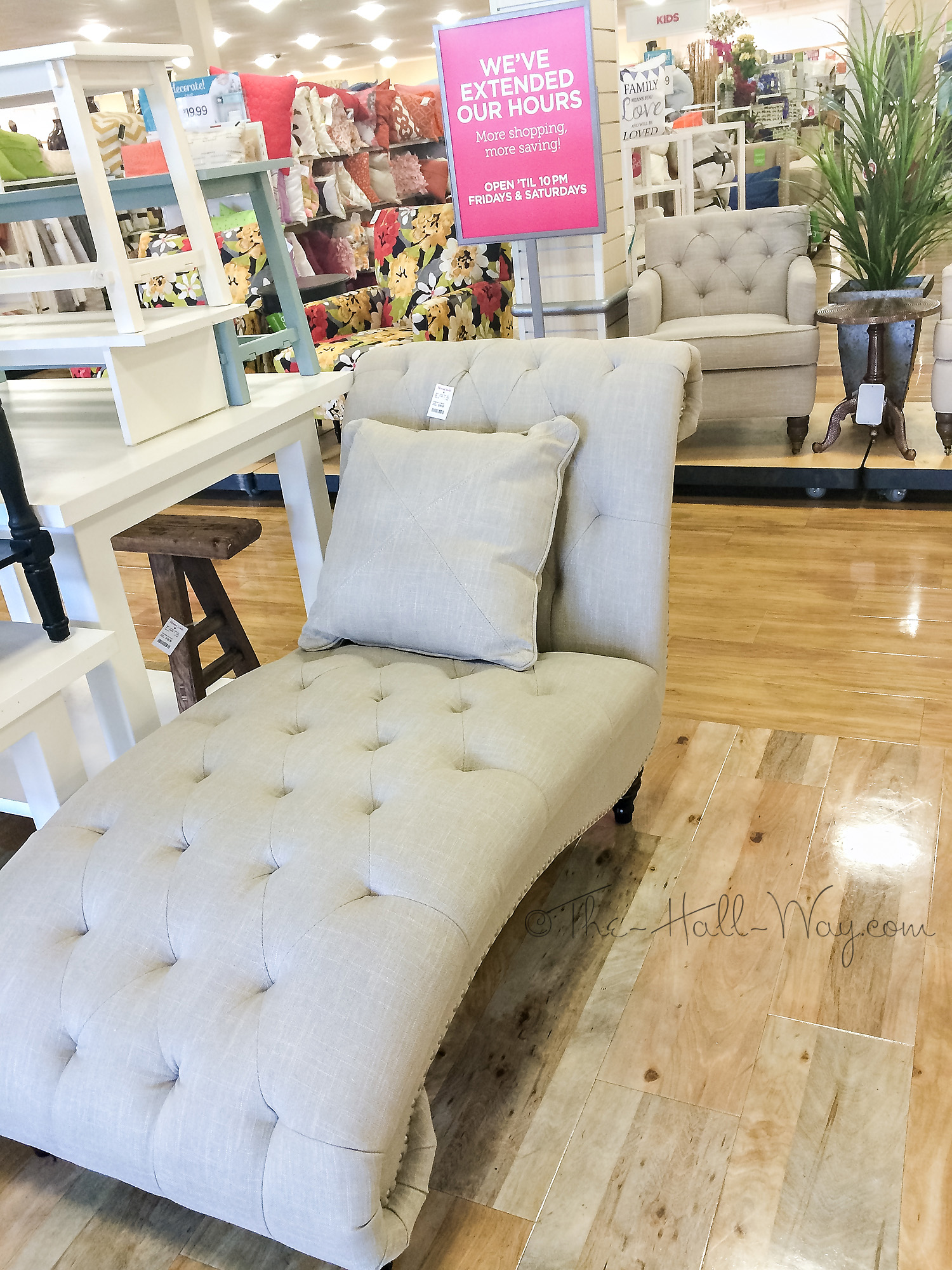 Home Goods Furniture A Chaise Lounge